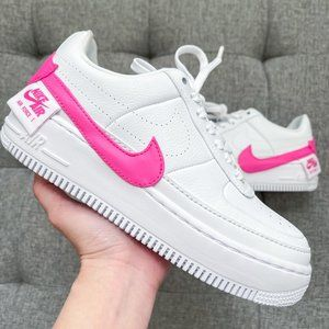🤍💖 Nike Air Force 1 jester white pink shoes